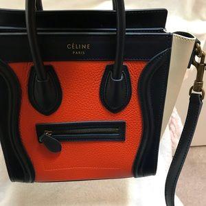 26319bfa64 Celine Bags - Celine Nano Tricolor